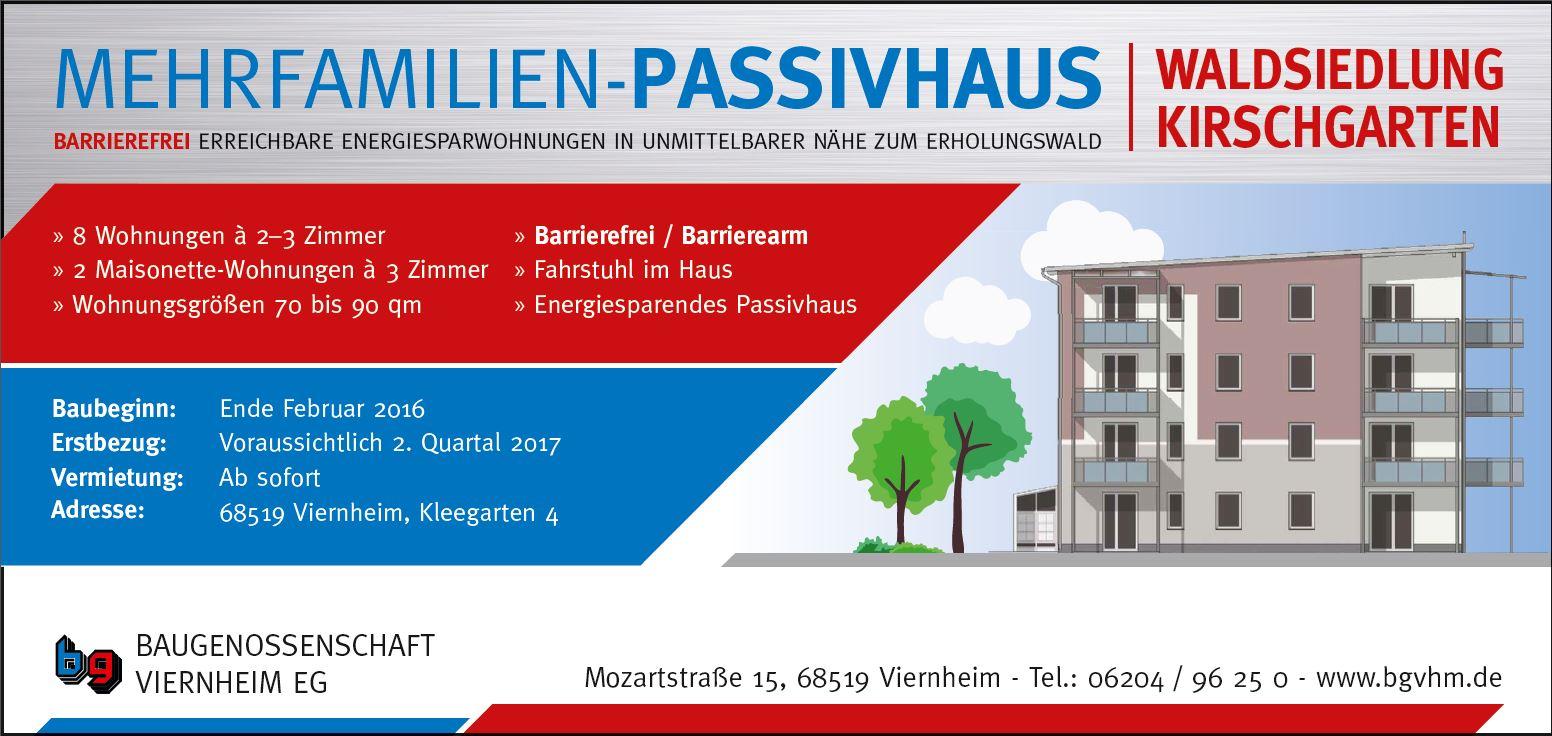 Neubau Kleegarten 4 Viernheim